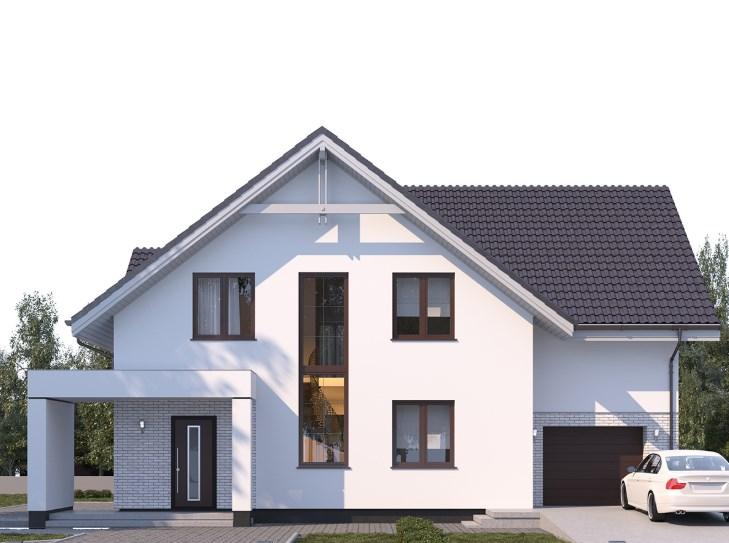 В какой цвет покрасить фасад дома