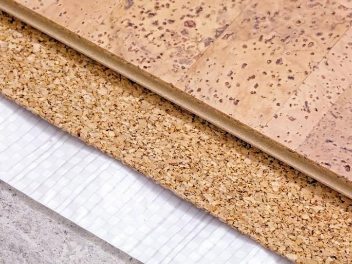 Разновидности и метод укладки пробкового покрытия