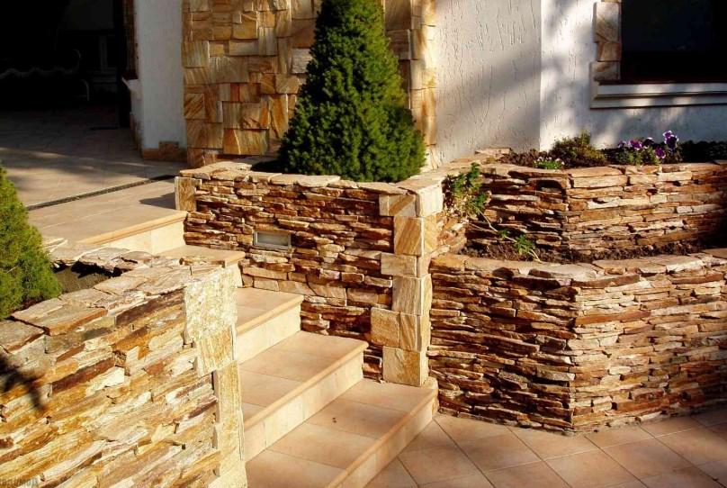 Применение декоративного камня