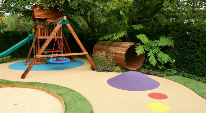 Безопасный двор для вашего ребенка