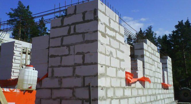 Газобетон в строительстве частных домов — преимущества и недостатки