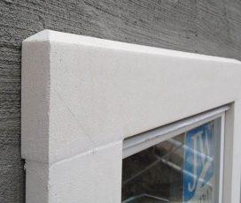 Утепление фасадов домов пенопластом