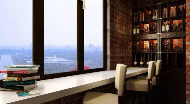 Как расширить жилплощадь за счет балкона