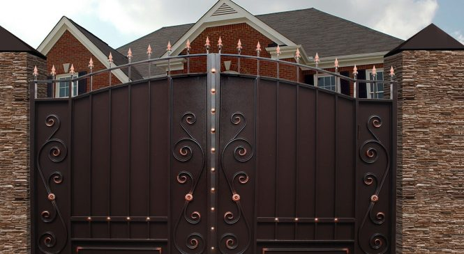 Качественное изготовление металлических ворот и заборов