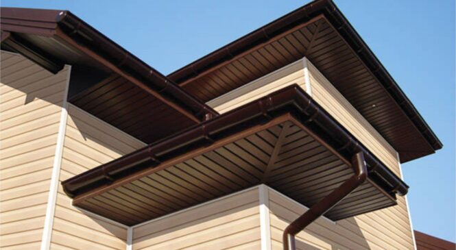 Подшивки свесов крыши софитом: преимущества