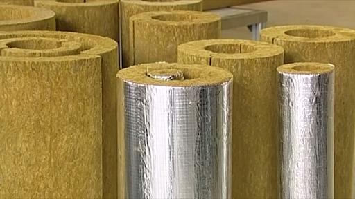 Базальтовые цилиндры для утепления труб
